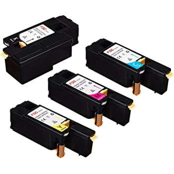 - 8 Pack Workcentre 6027 Printers Black, Cyan, Magenta, Yellow Smart Print Supplies 106R02759 106R02756 106R02757 106R02758 Compatible Toner Cartridge Replacement for Xerox Phaser 6022