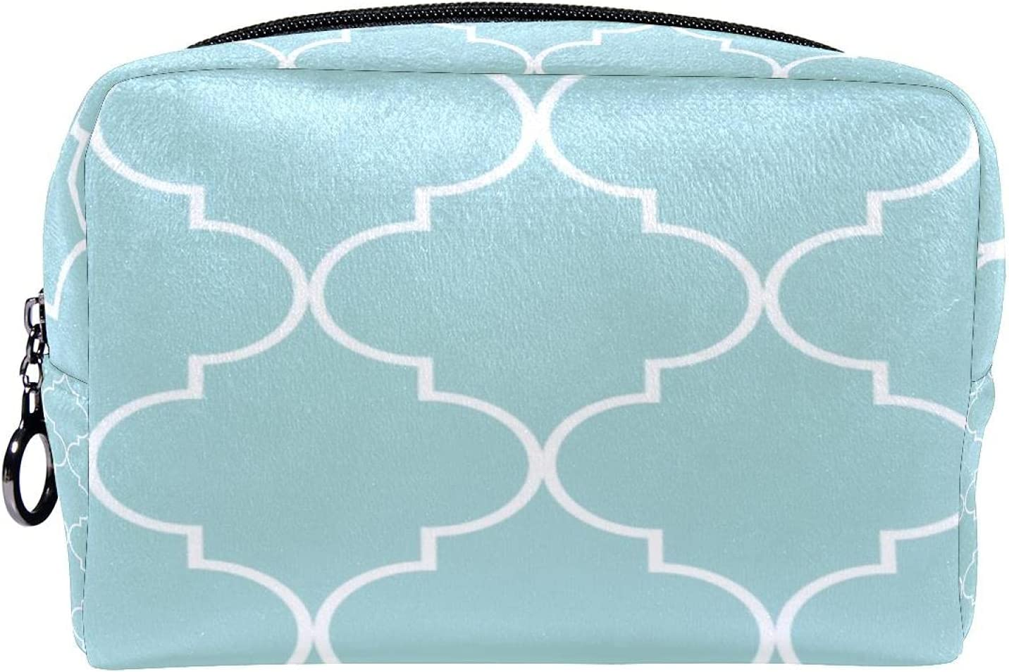 Max 71% OFF Makeup Toiletry Complete Free Shipping Bag Purse Cosmetic quatrefoil geometric