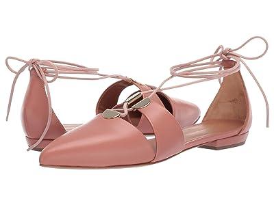 Emporio Armani Ankle Tie Flat (Carne) Women