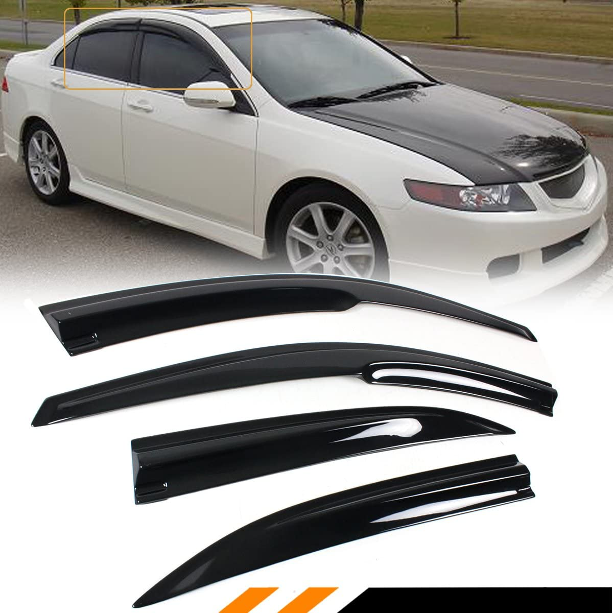 Cuztom Tuning Fits Max 78% OFF Recommended for 2004-2008 Acura 3D JDM CL8 Euro-R TSX Wav