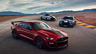 2020 Ford Mustang Shelby GT500 Car Poster Print #2 (24x36 Inches)