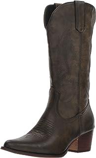 حذاء برقبة غربي للنساء من روبر
