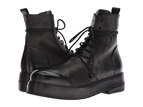 Marsell Zuccolona Smooth Leather Combat Boot