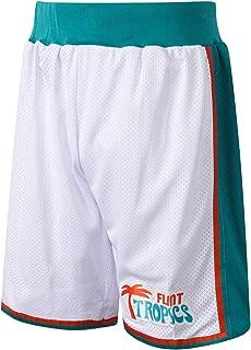 AFLGO Flint Tropics Short Basketball – 90's Clothing Shorts Throwback Costume Athletic Apparel Clothing