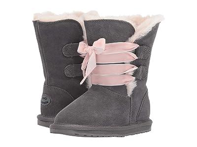 EMU Australia Kids Phoenix (Toddler/Little Kid/Big Kid) (Charcoal) Girls Shoes