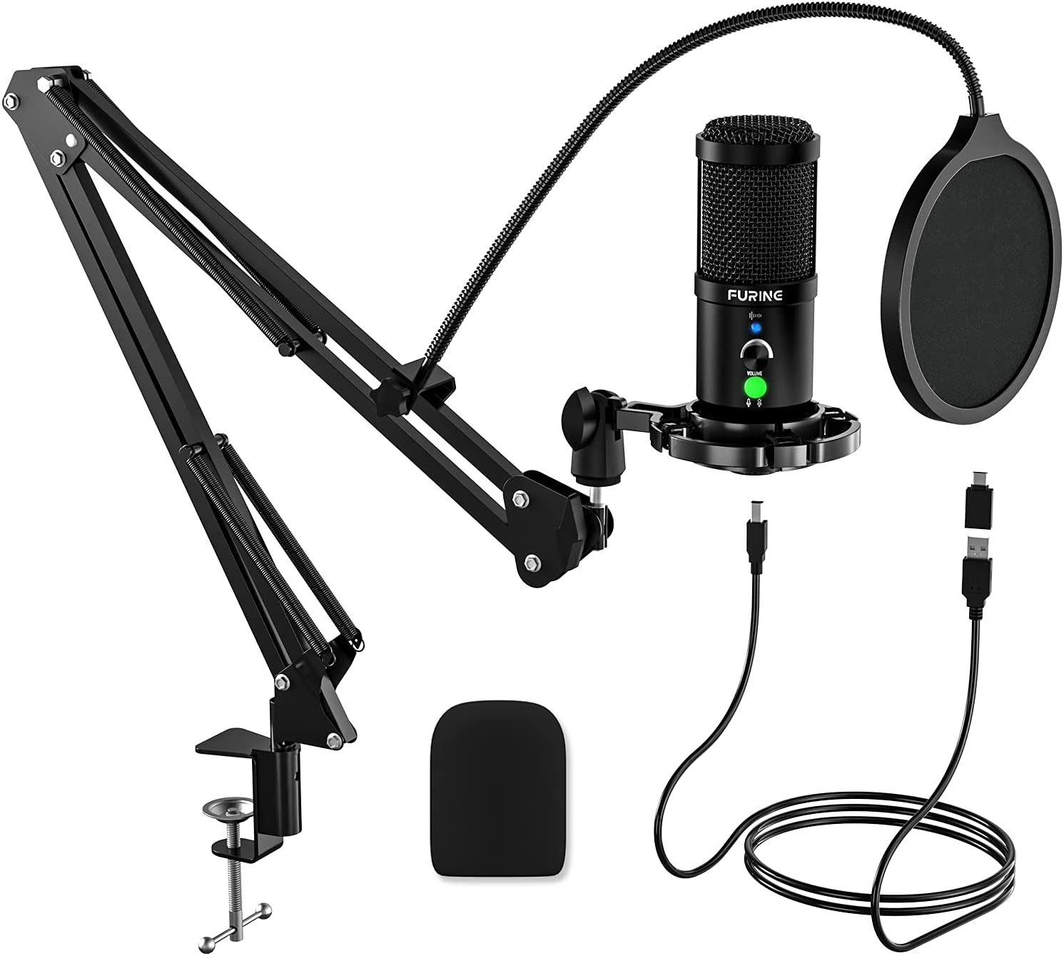 Mail order USB Microphone Luxury goods for PC FURINEGaming Noise-Ca with