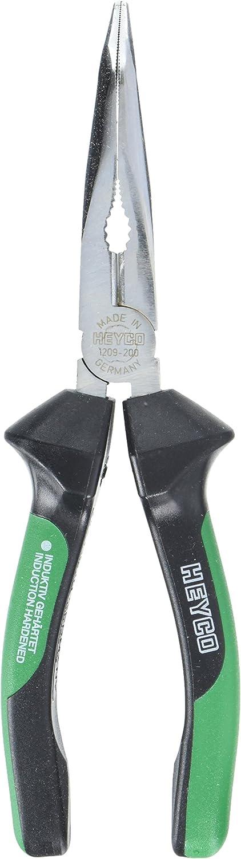 Heyco 1209020086 Flachrundzange 1209  mit mit mit Kunststoffgriffe 200 mm B01H76Z04K  Großer Verkauf 85e203