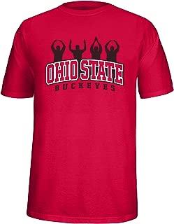 J America Adult Ohio State People Tee Ohio St, Medium, Red