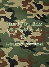 Dari / Pashto Phrasebook for Military Personnel (English, Dargwa and Iranian Languages Edition)