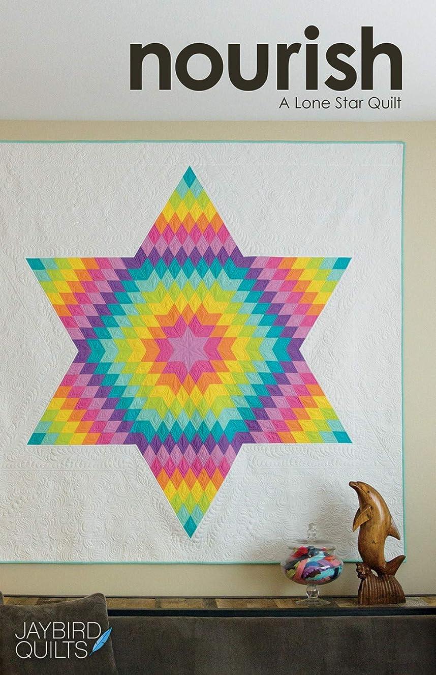 Jaybird Quilts JBQ177 Nourish A Lone Star Quilt Pattern, None