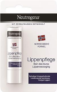 Mit Lichtschutzfaktor Neutrogena Norwegische Formel Lippenpflege, Classic, für trockene Lippen, 4.8g
