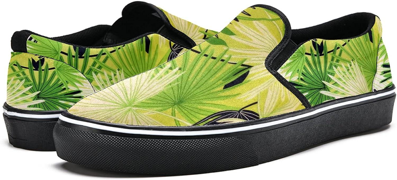 Men's Classic Slip-on Canvas Tulsa Mall Shoe Walking Sneaker Casual Time sale Fashion