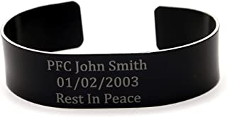 military remembrance wristbands