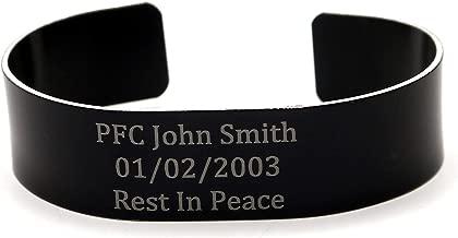 police memorial bracelets