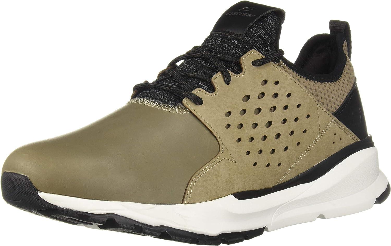 Skechers Men's RELVEN- HEMSON Sneaker, tan, 11.5 Medium US
