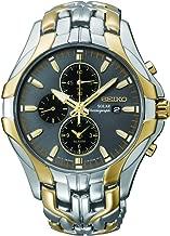 Seiko Men's Excelsior Two-Tone Solar Chronograph Watch