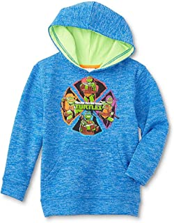 Nickelodeon Teenage Mutant Ninja Turtles Boys' Hooded Sweatshirt, Blue