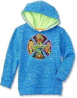 Nickelodeon Teenage Mutant Ninja Turtles Boys' Hooded Sweatshirt, Blue