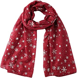 Best chiffon christmas scarf Reviews