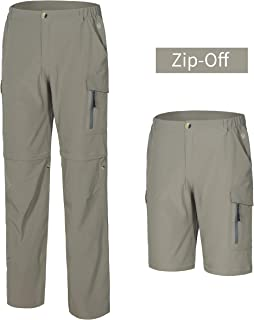 Little Donkey Andy Men's Hiking Convertible Pants Zip-Off Stretch Quick Dry Shorts for Camping, Fishing