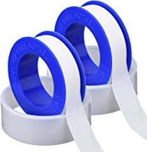2 Pack Thread Tape PTFE Thread Seal Tape Pipe Sealant Tape for Plumbers Plumbing, 1/ 2 Inch