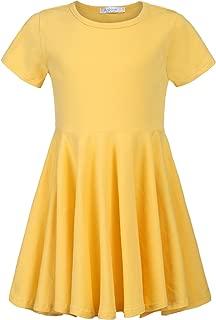 yellow dress little girl