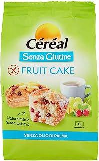 Céréal Tortine con Frutta Secca senza Glutine Fruit Cake, 200g