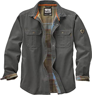 90397b2ed4e40 Legendary Whitetails Men s Journeyman Flannel Lined Rugged Shirt Jacket