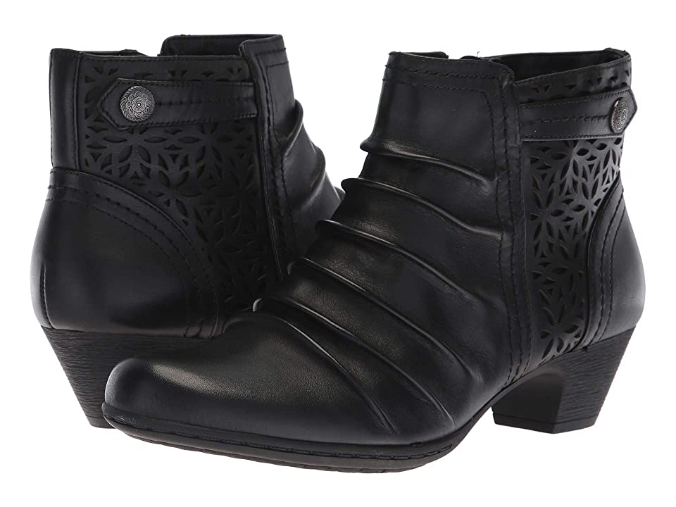 Rockport Brynn Panel Boot (Black) Women