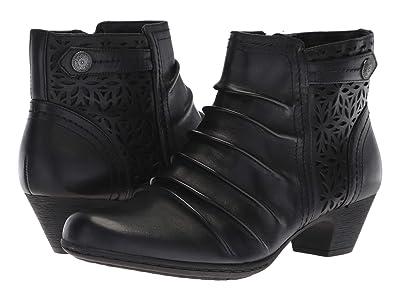 Rockport Brynn Panel Boot (Black) Women