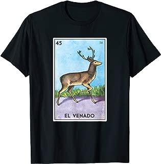 El Venado Card Loteria Shirt Deer Mexican Bingo Tarot