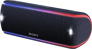 ソニー SONY ワイヤレスポータブルスピーカー SRS-XB31 B : 防水/防塵/防錆/Bluetooth/専用スマホアプリ対応 ライティング機能 2018年 ブラック