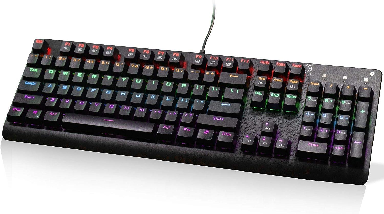 E-Yooso gift Mechanical Keyboard Cash special price K600 Gami Black Keys Switches104