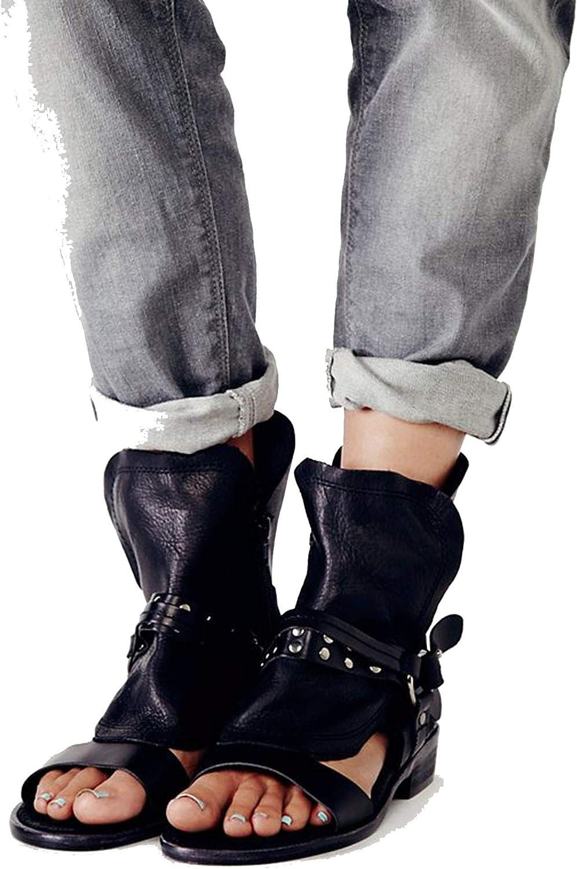 Fashion Women Sandals Cool Boot Buckles Women shoes Gladiator Sandals Leather Sandalia women