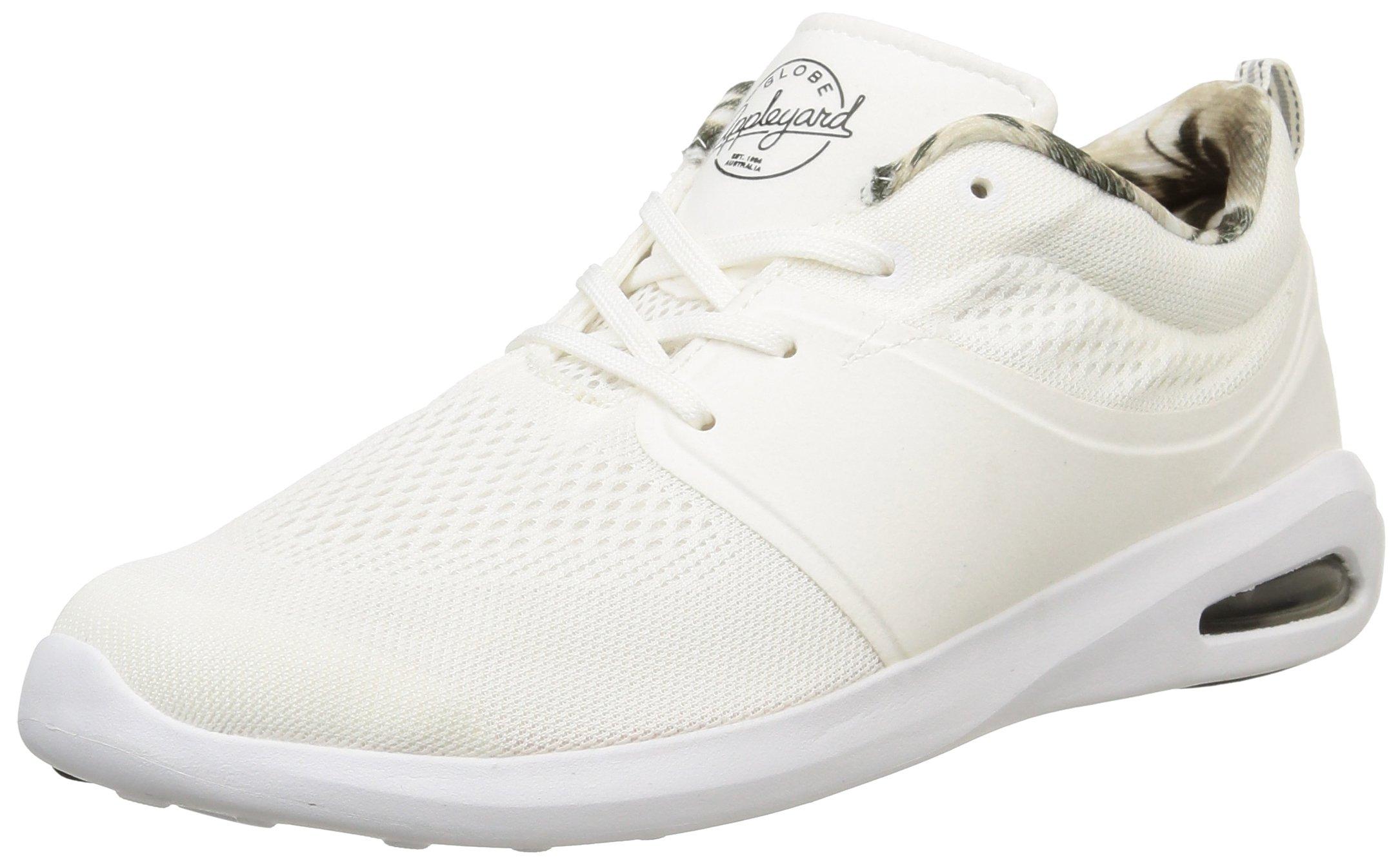 Globe Mahalo Lyte, Unisex-Erwachsene Sneakers, Weiß (11001 white), EU 47 (US 13