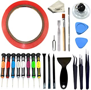 Ewparts 24 in 1 Uniersal Screwdriver Set Screen Removal Opening Repair Tool Kit for iPhone, Motorola, Sony, Samsung, LG, iPad, Tablets & Other Devices