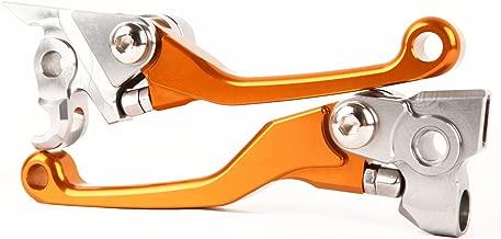 TOPHOME for KTM 530/525/505/500/450/400/350/250 SXF XCF/W EXC/F/R SMR XCRW, for HUSQVARNA TC TE 250/310/449/450, for HUSABERG TE FE 250/300/350/450/501 Brake Clutch Pivot CNC Lever Set