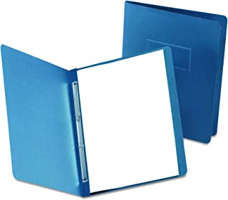 Oxford 2-Hole Prong Report Covers, Dark Blue, Letter Size, 25 per Box, (OXF5730123)