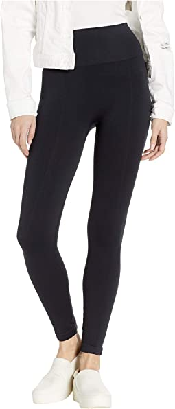 Skimmer Length Seamless Shaping Leggings