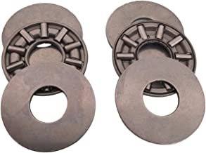 2pcs AXK0821 Thrust Needle Roller Bearing with Two Washers 8 x 21 x 2mm