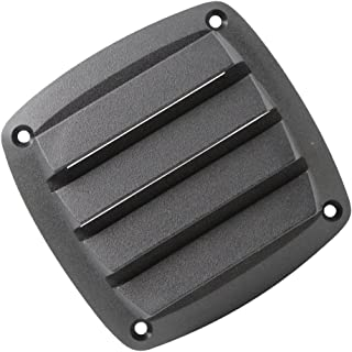 D DOLITY New Black Plastic Louvered Vents Ventilation Marine Vent for 4 Inch Boat Parts
