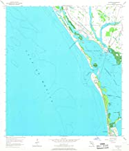 YellowMaps Placida FL topo map, 1:24000 Scale, 7.5 X 7.5 Minute, Historical, 1957, Updated 1968, 26.8 x 23 in
