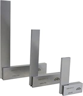 Kinex 3 Piece Set of Solid Machinist Square 2-3/8
