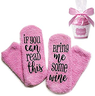 Christmas Movies Socks- Novelty If You Can Read This Socks Funny Gift For Men and Women