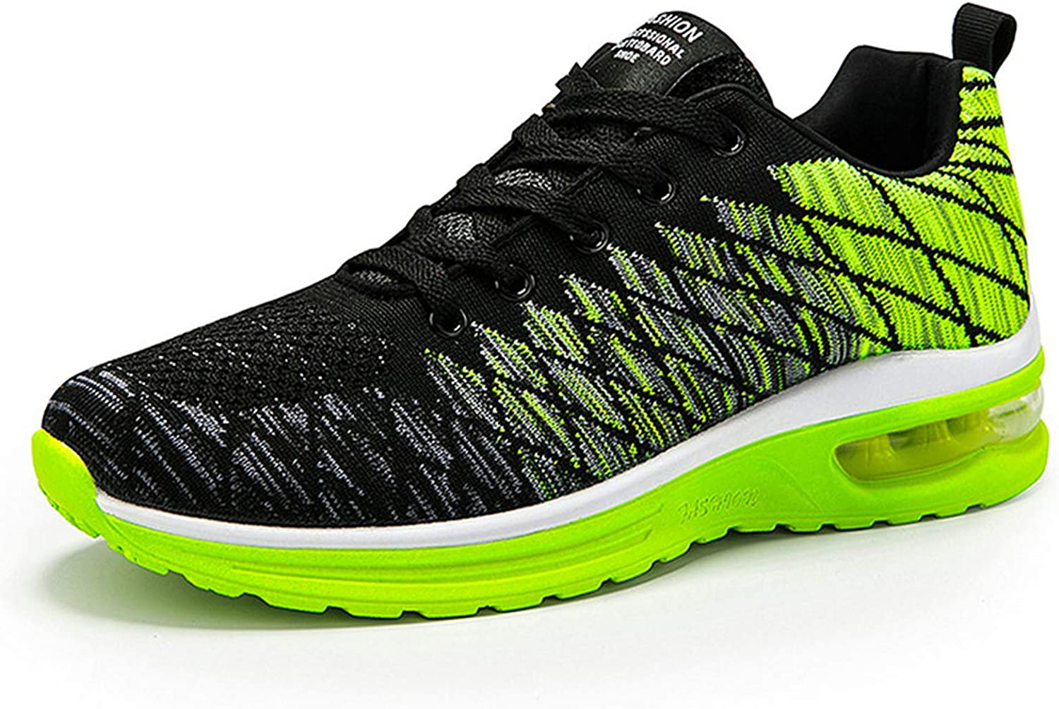 TOPSSCTR Running Shoes for Men Womens Sneakers Breathable Tennis Shoes Comfy Air Cushion Sneakers