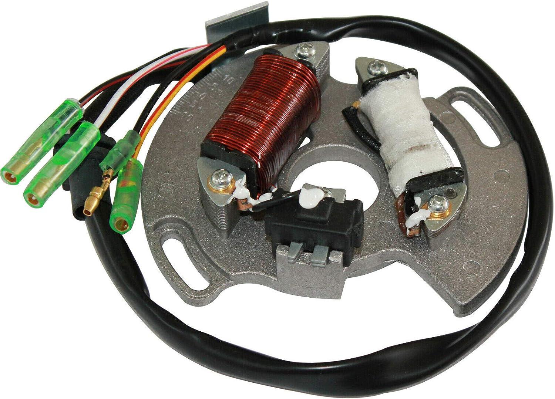 JEMJULES Stator Fit for Yamaha Vehicle ATV Blaster New item All-Terrain Great interest