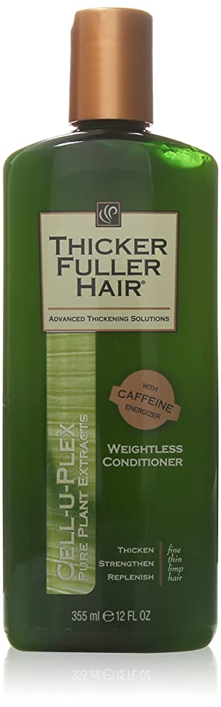 敬の念おめでとう増加するThicker Fuller Hair Weightless Conditioner Cell-U-Plex, 12 Ounce by Thicker Fuller