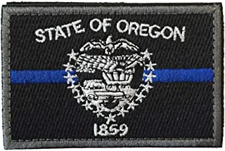 SpaceCar USA The Beaver State Oregon OR State Flag Tactical Morale Patch 3