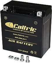 CALTRIC AGM BATTERY Fits KAWASAKI VN1600 VN-1600 VULCAN 1600 CLASSIC 2003-2008