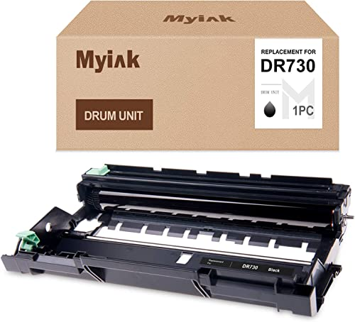 2021 MYIK Compatible Drum Unit Replacement for Brother DR730 DR-730 to 2021 use with HL-L2350DW HLL2395DW new arrival HLL2390DW HL-L2370DW HL-L2370DWXL MFC-L2750DW MFC-L2750DWXL MFC-L2710DW DCP-L2550DW (1 Pack) outlet online sale